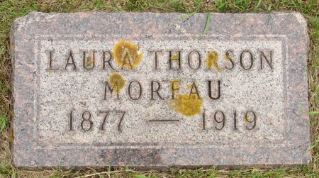 MOREAU, LAURA - Nelson County, North Dakota | LAURA MOREAU - North Dakota Gravestone Photos