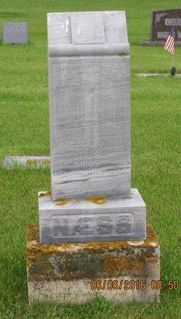 NæSS, ELEN JOHANNE - Nelson County, North Dakota | ELEN JOHANNE NæSS - North Dakota Gravestone Photos