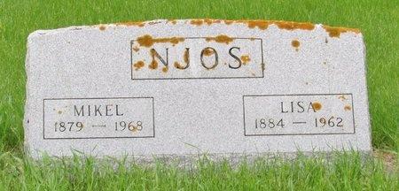 NJOS, LISA - Nelson County, North Dakota   LISA NJOS - North Dakota Gravestone Photos