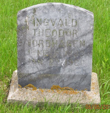 NORDHAGEN, INGVALD THEODOR - Nelson County, North Dakota | INGVALD THEODOR NORDHAGEN - North Dakota Gravestone Photos