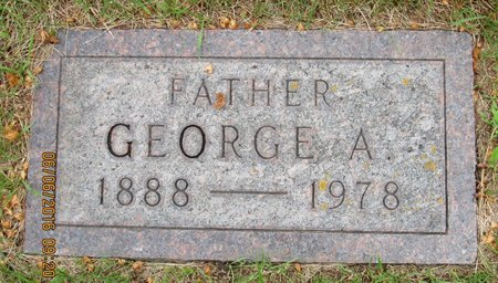 NORTHAGEN, GEORGE A. - Nelson County, North Dakota | GEORGE A. NORTHAGEN - North Dakota Gravestone Photos