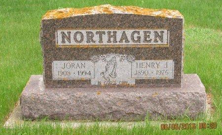 NORTHAGEN, JORAN - Nelson County, North Dakota | JORAN NORTHAGEN - North Dakota Gravestone Photos