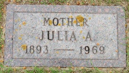 NORTHAGEN, JULIA A. - Nelson County, North Dakota | JULIA A. NORTHAGEN - North Dakota Gravestone Photos