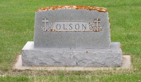 OLSON, FAMILY MARKER - Nelson County, North Dakota   FAMILY MARKER OLSON - North Dakota Gravestone Photos