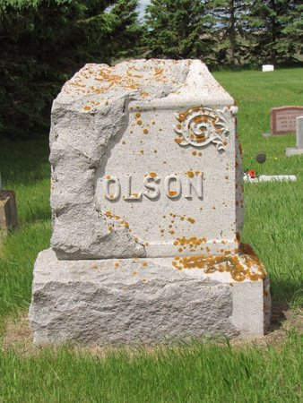 OLSON, FAMILY MARKER - Nelson County, North Dakota | FAMILY MARKER OLSON - North Dakota Gravestone Photos