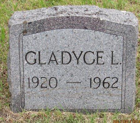 OLSON, GLADYCE L. - Nelson County, North Dakota | GLADYCE L. OLSON - North Dakota Gravestone Photos
