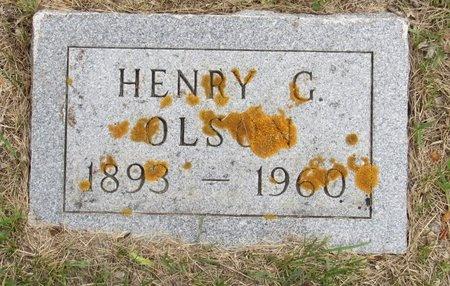 OLSON, HENRY G. - Nelson County, North Dakota | HENRY G. OLSON - North Dakota Gravestone Photos