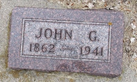 OLSON, JOHN G. - Nelson County, North Dakota | JOHN G. OLSON - North Dakota Gravestone Photos