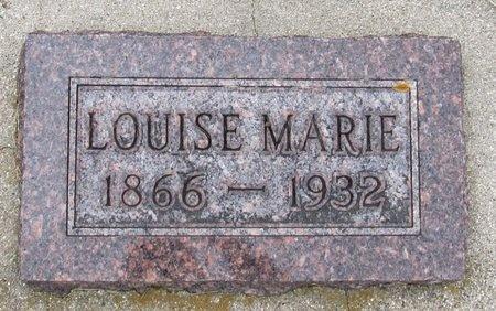 OLSON, LOUISE MARIE - Nelson County, North Dakota   LOUISE MARIE OLSON - North Dakota Gravestone Photos