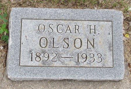 OLSON, OSCAR H. - Nelson County, North Dakota | OSCAR H. OLSON - North Dakota Gravestone Photos