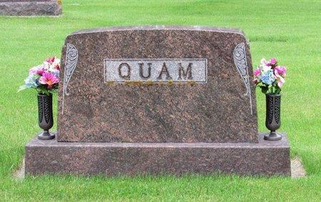 QUAM, FAMILY MARKER - Nelson County, North Dakota | FAMILY MARKER QUAM - North Dakota Gravestone Photos
