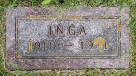 QUAM, INGA - Nelson County, North Dakota   INGA QUAM - North Dakota Gravestone Photos