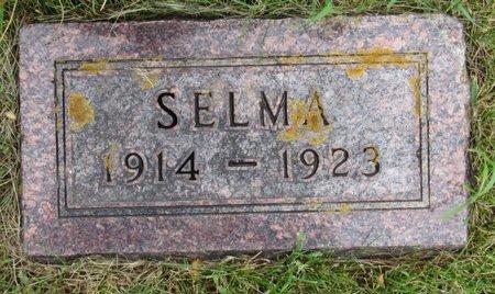 QUAM, SELMA - Nelson County, North Dakota | SELMA QUAM - North Dakota Gravestone Photos