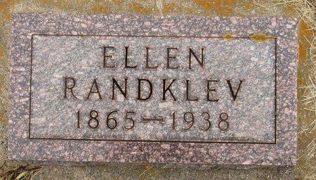 RANDKLEV, ELLEN - Nelson County, North Dakota | ELLEN RANDKLEV - North Dakota Gravestone Photos