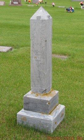 RANDKLEV, OSCAR E. - Nelson County, North Dakota | OSCAR E. RANDKLEV - North Dakota Gravestone Photos