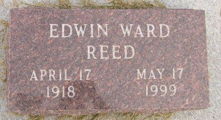 REED, EDWIN WARD - Nelson County, North Dakota | EDWIN WARD REED - North Dakota Gravestone Photos