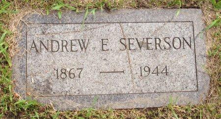 SEVERSON, ANDREW E. - Nelson County, North Dakota | ANDREW E. SEVERSON - North Dakota Gravestone Photos