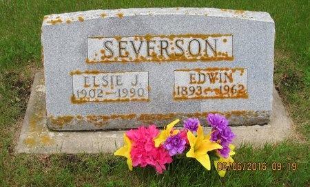 SEVERSON, ELSIE J. - Nelson County, North Dakota | ELSIE J. SEVERSON - North Dakota Gravestone Photos
