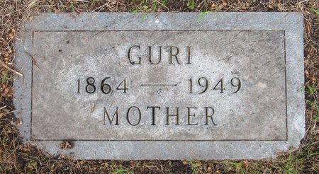 SEVERSON, GURI - Nelson County, North Dakota | GURI SEVERSON - North Dakota Gravestone Photos