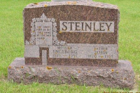STEINLEY, JOHN - Nelson County, North Dakota   JOHN STEINLEY - North Dakota Gravestone Photos