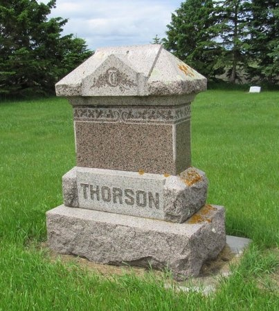 THORSON, FAMILY MARKER - Nelson County, North Dakota | FAMILY MARKER THORSON - North Dakota Gravestone Photos