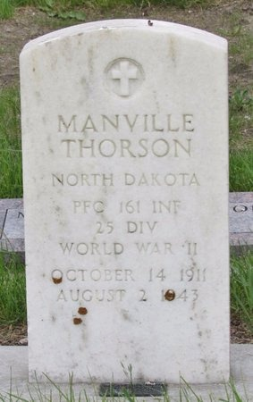 THORSON, MANVILLE - Nelson County, North Dakota | MANVILLE THORSON - North Dakota Gravestone Photos