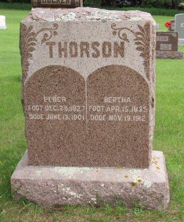 THORSON, BERTHA - Nelson County, North Dakota   BERTHA THORSON - North Dakota Gravestone Photos