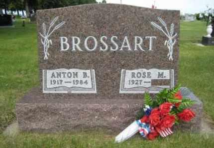 BROSSART, ANTON B - Pierce County, North Dakota | ANTON B BROSSART - North Dakota Gravestone Photos