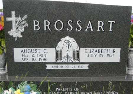 BROSSART, AUGUST C - Pierce County, North Dakota | AUGUST C BROSSART - North Dakota Gravestone Photos
