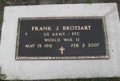 BROSSART, FRANK J - Pierce County, North Dakota | FRANK J BROSSART - North Dakota Gravestone Photos