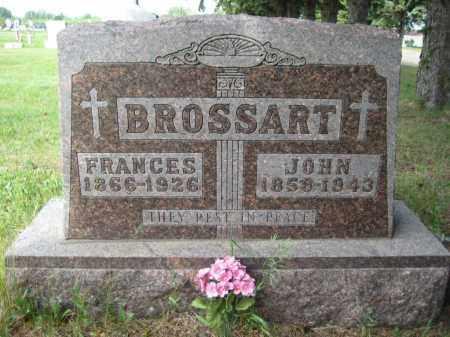 BROSSART, JOHANNES - Pierce County, North Dakota | JOHANNES BROSSART - North Dakota Gravestone Photos