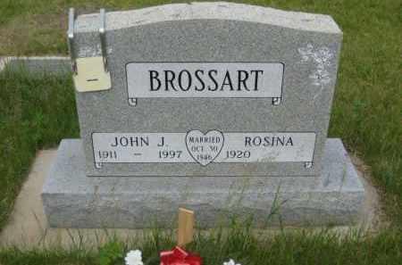 BROSSART, JOHN J - Pierce County, North Dakota   JOHN J BROSSART - North Dakota Gravestone Photos
