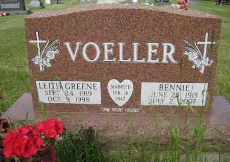 VOELLER, BENNIE - Pierce County, North Dakota | BENNIE VOELLER - North Dakota Gravestone Photos