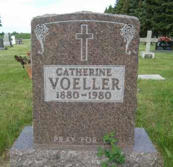 VOELLER, CATHERINE - Pierce County, North Dakota | CATHERINE VOELLER - North Dakota Gravestone Photos