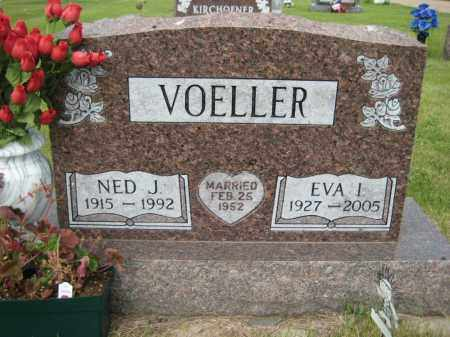 VOELLER, EVA IRENE - Pierce County, North Dakota | EVA IRENE VOELLER - North Dakota Gravestone Photos