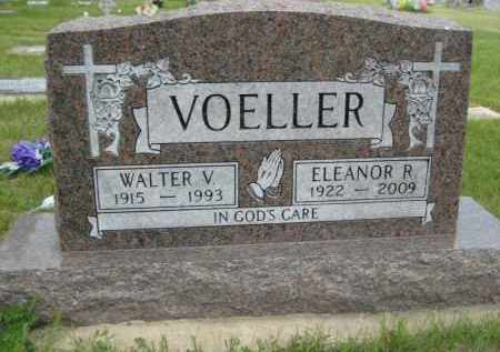 VOELLER, ELEANOR ROSE - Pierce County, North Dakota | ELEANOR ROSE VOELLER - North Dakota Gravestone Photos