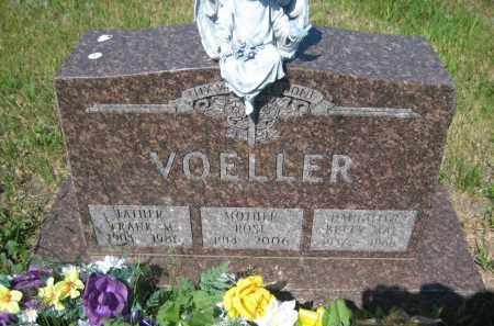 VOELLER, FRANK M - Pierce County, North Dakota   FRANK M VOELLER - North Dakota Gravestone Photos