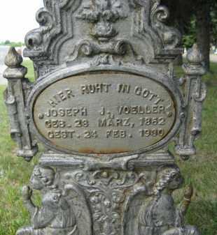 VOELLER, JOSEPH J - Pierce County, North Dakota   JOSEPH J VOELLER - North Dakota Gravestone Photos