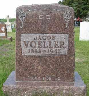 VOELLER, JACOB - Pierce County, North Dakota | JACOB VOELLER - North Dakota Gravestone Photos