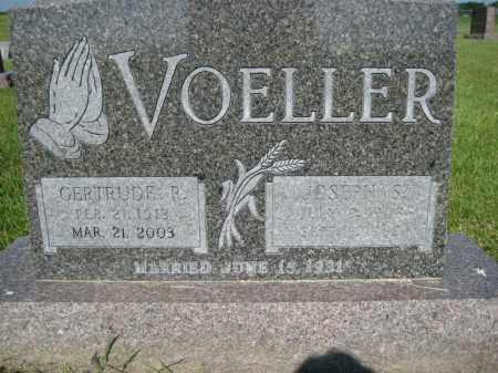 VOELLER, JOSEPH SYLVESTER - Pierce County, North Dakota | JOSEPH SYLVESTER VOELLER - North Dakota Gravestone Photos