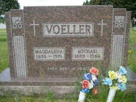 VOELLER, MICHAEL - Pierce County, North Dakota | MICHAEL VOELLER - North Dakota Gravestone Photos
