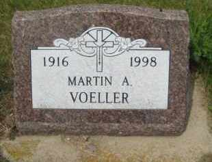 VOELLER, MARTIN ANTON - Pierce County, North Dakota | MARTIN ANTON VOELLER - North Dakota Gravestone Photos