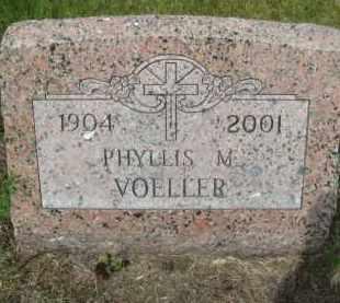 VOELLER, PHYLLIS M - Pierce County, North Dakota | PHYLLIS M VOELLER - North Dakota Gravestone Photos