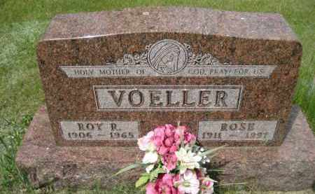 VOELLER, ROY R - Pierce County, North Dakota | ROY R VOELLER - North Dakota Gravestone Photos