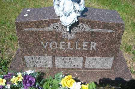 VOELLER, ROSE - Pierce County, North Dakota | ROSE VOELLER - North Dakota Gravestone Photos
