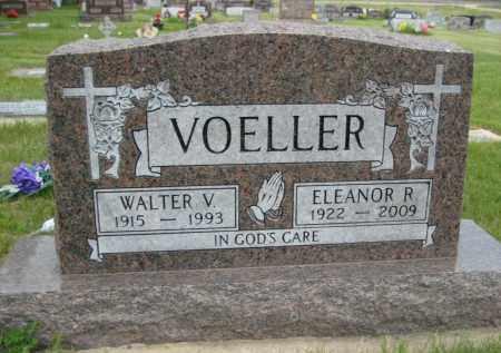 VOELLER, WALTER VERNON - Pierce County, North Dakota   WALTER VERNON VOELLER - North Dakota Gravestone Photos
