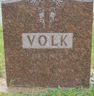VOLK, DENNIS - Pierce County, North Dakota | DENNIS VOLK - North Dakota Gravestone Photos