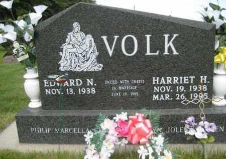 VOLK, HARRIET - Pierce County, North Dakota | HARRIET VOLK - North Dakota Gravestone Photos
