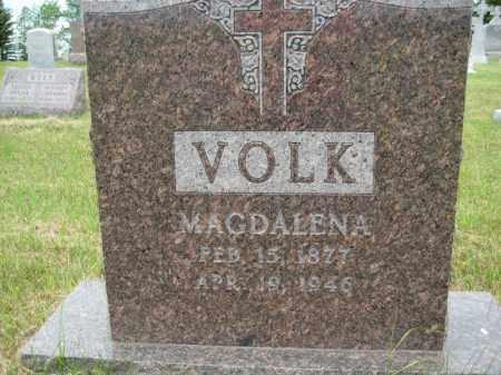 VOLK, MAGDELINE - Pierce County, North Dakota | MAGDELINE VOLK - North Dakota Gravestone Photos
