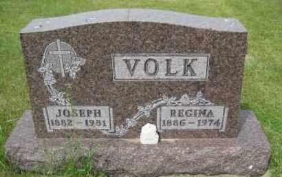 VOLK, REGINA - Pierce County, North Dakota | REGINA VOLK - North Dakota Gravestone Photos